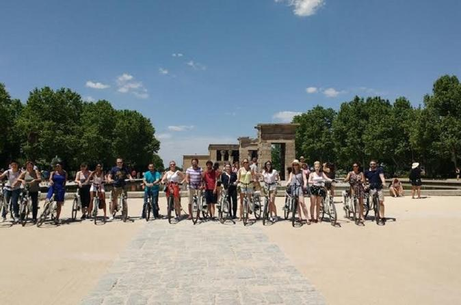 Sightseeing Electric Bike Tour in Madrid