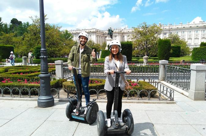 Tour in segway around the city in 1 hour