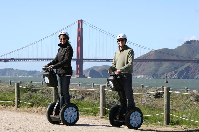 San Francisco Combo: Alcatraz and City Segway Tour