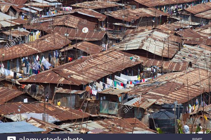 GUIDED TOUR TO KIBERA SLUM