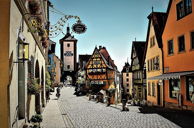 Romantic Road: Rothenburg ob der Tauber and More Private Tour