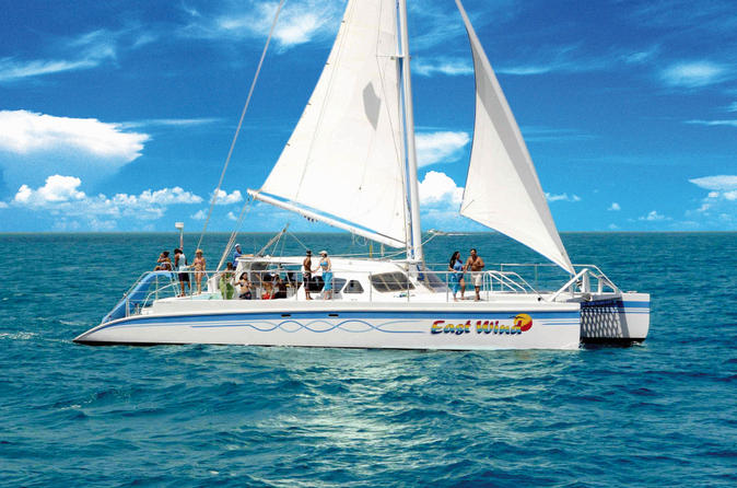 Deserted island catamaran day sail from fajardo in san juan 180760