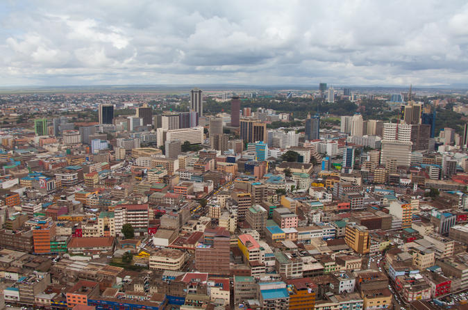 Nairobi City Walking Tour with Traditional Kenyan Lunch