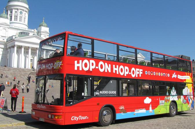Helsinki 24h Hop-On Hop-Off tour