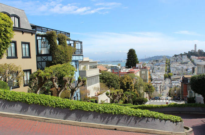 Coit Tower Lombard Street North Beach Sf Urban Hiking Tour 2019
