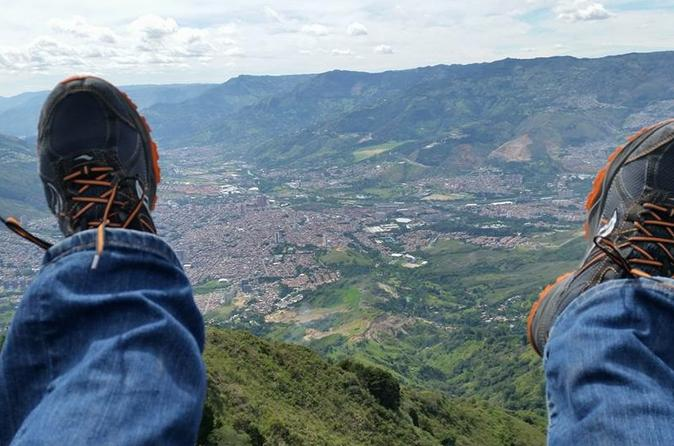 Christmas In Colombia South America.Private Medellin Paragliding And Christmas Lights Tour In