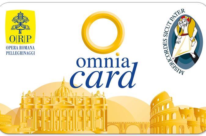 Omnia Vatican e Roma Pass incluindo excursão com várias paradas