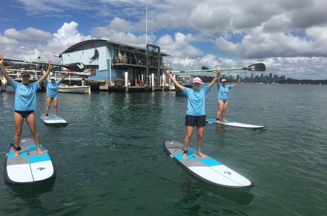 Sydney Harbour Stand Up Paddle Including 2-Course Lunch at Doyles Seafood Restaurant
