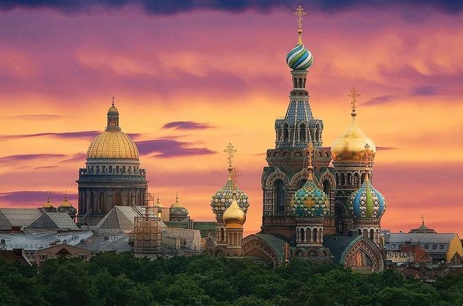 2-Day Shore Excursion - Classic St Petersburg with Evening Music Show-Concert