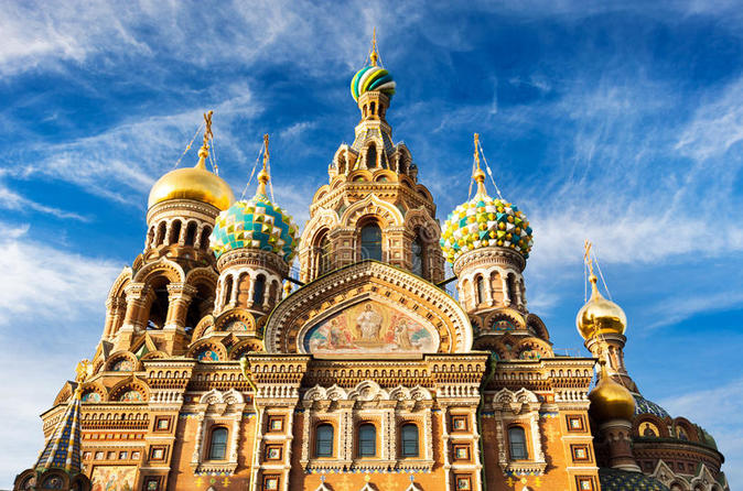 2-Day Shore Excursion - the Best of St Petersburg with Russian Folk-Show