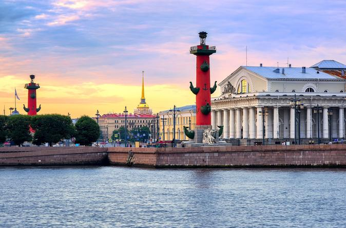 3-Day Private Tour for StPeterLine Ferries from Helsinki or Stockholm