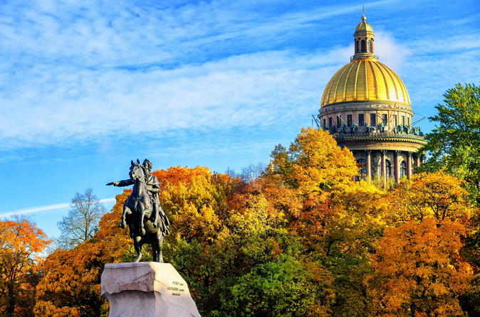 3-Day Private Tour of St Petersburg with Round-Trip Transfer