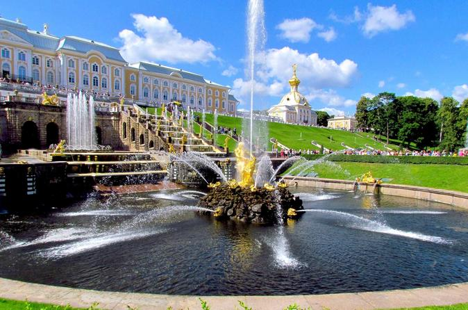 All-inclusive 1-Day Tour of St Petersburg with Hermitage, Peterhof & Pushkin