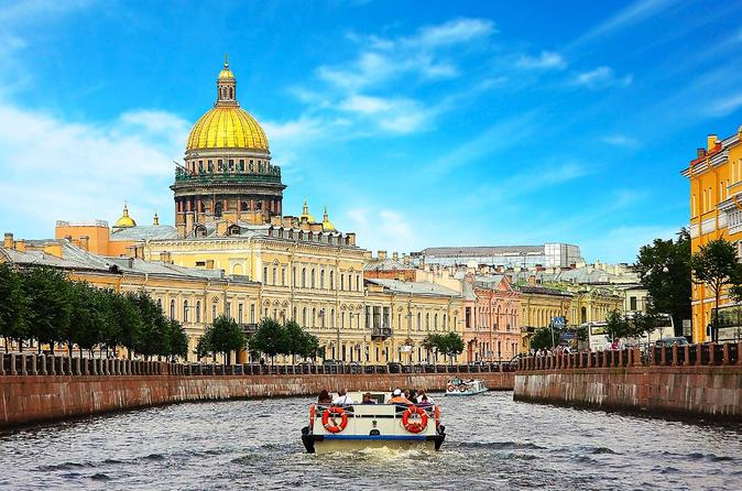 All of St Petersburg - 4-day Private Tour with Round-Trip Transfer