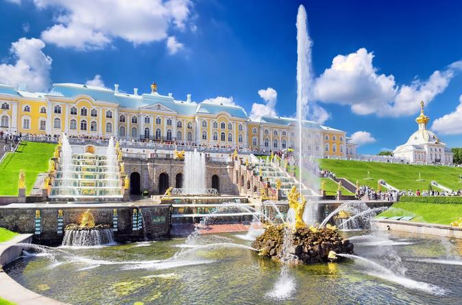 Best of St Petersburg - Private 1-Day Tour with Hermitage & Peterhof