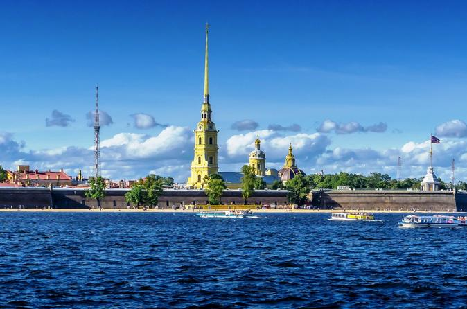 Classic St Petersburg - Private Full-Day Tour with Hermitage and Fortress