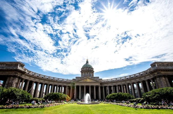 Easy 1-Day Shore Excursion in St Petersburg with Free Time & Shopping