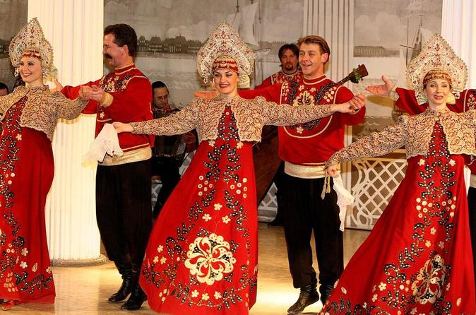 Folk Show of Traditional Russian Dancing & Singing at Nikolayevsky Palace