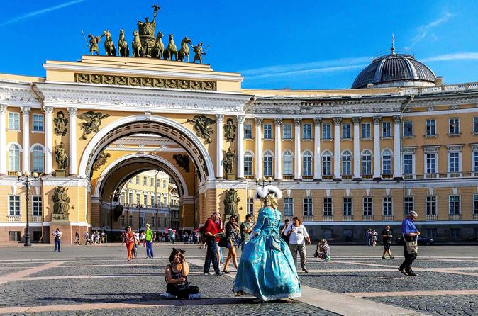 Full-Day Visa-Free Tour - City Highlights and Hermitage
