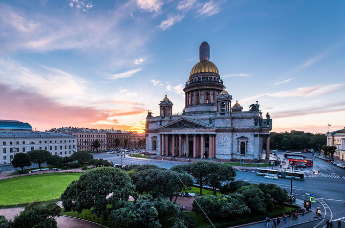Intense 3-Day Private Shore Excursion - All of St Petersburg Visa-Free
