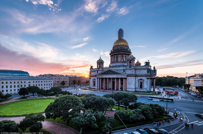 One-Day Trip to St Petersburg from Moscow by Train