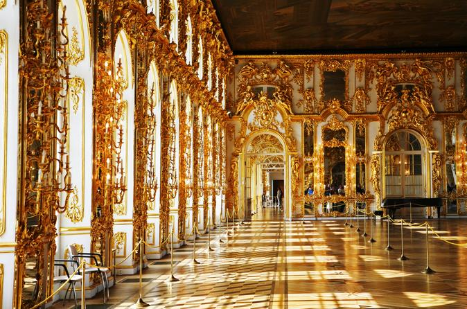 Private 1-day Shore Excursion with Pushkin and Pavlovsk