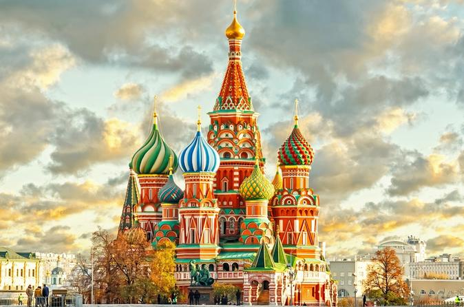 Private 2-day Shore Excursion in St Petersburg with Day-Trip to Moscow
