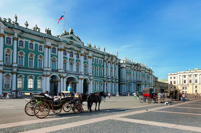 Private City Tour of St Petersburg with Hermitage Museum