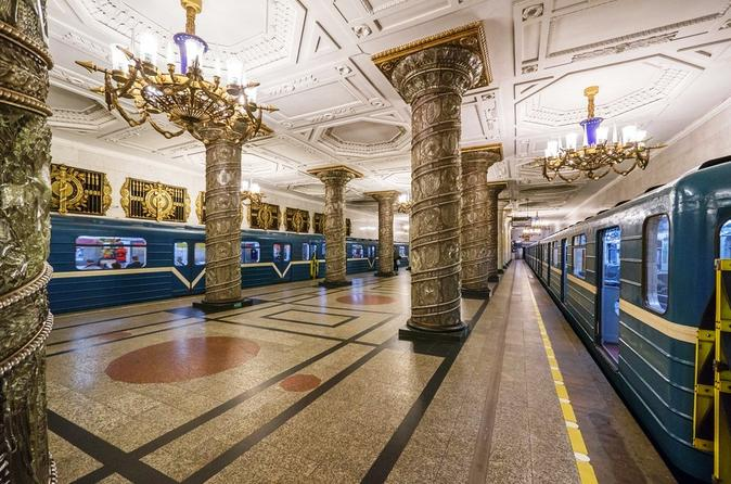Private City Tour Of St Petersburg With Metro Excursion - Saint Petersburg