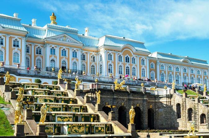 Private Tour of Hermitage and Grand Palace of Peterhof by Hydrofoil