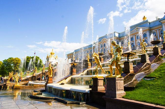 Private Tour of Imperial Residences - Peterhof & Tsarskoye Selo