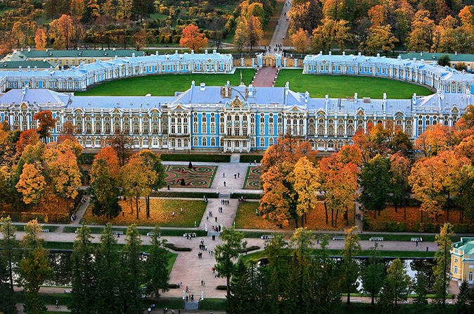 Private Tour to Catherine's Palace & Amber Room (Skip-the-line tickets)