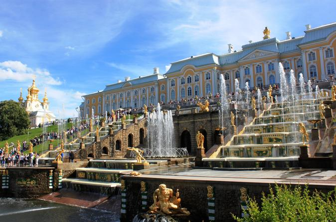 Private Tour - Winter Palace In St Petersburg & Summer Palace In Peterhof - Saint Petersburg