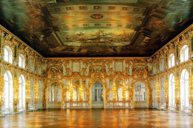 Tour To The Grand Palace Of Peterhof And Catherine's Palace - Saint Petersburg
