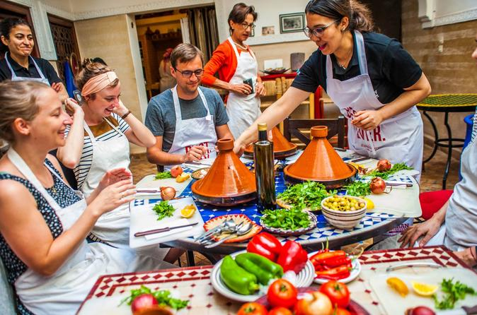 Experience morocco visit a souk and cook moroccan food in marrakech in marrakech 594464