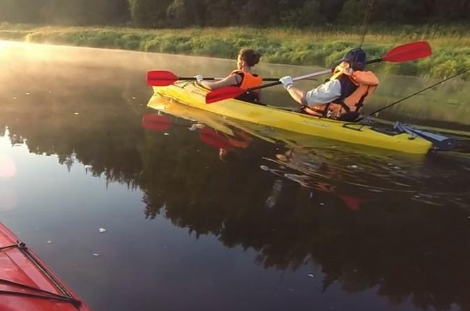 Kayak Tour on Moskva River