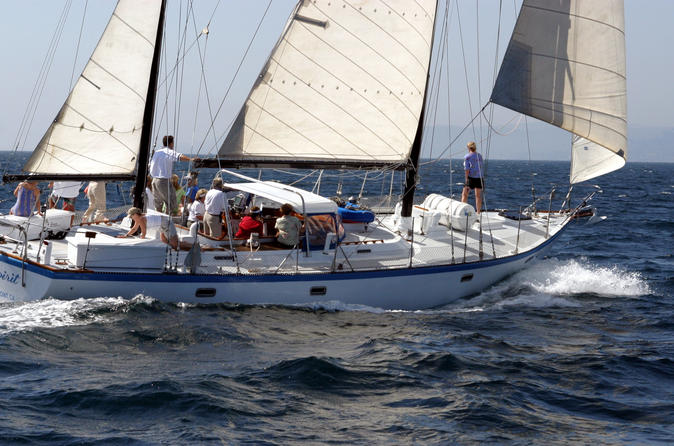 Sail With Spirit - A Beautiful 54-Foot Sailing Yacht - San Diego