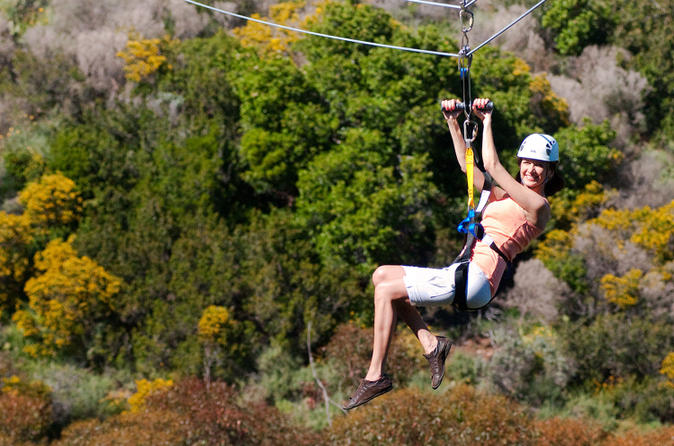Catalina island zipline eco tour from anaheim or los angeles in anaheim buena park 152200
