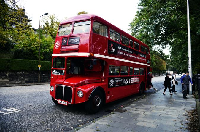 Glasgow Gourmet Burger Experience aboard a 1966 Routemaster Bus