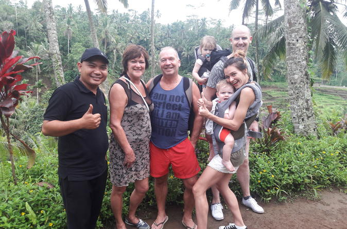 Bali Zoo Waterfall Ubud Volcano Tour