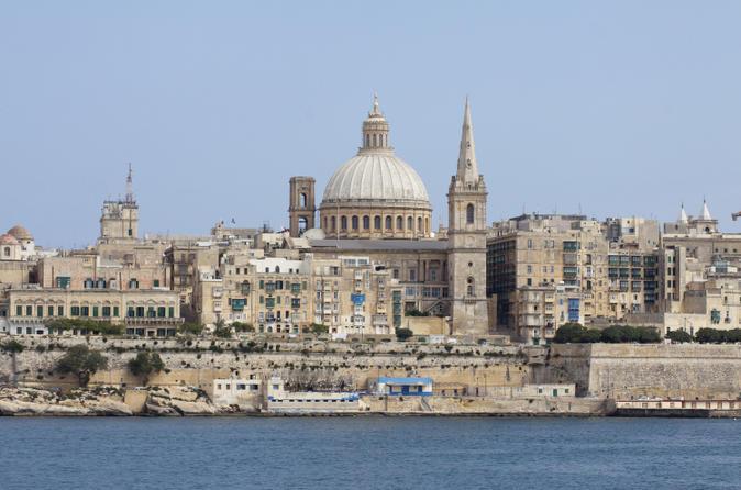 Valletta Sightseeing Cruise and Tour