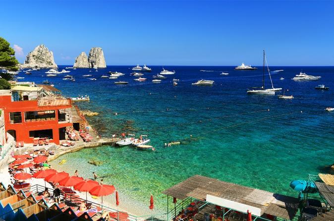 3-Night Southern Italy Sailing Adventure: Amalfi Coast, Capri and Procida