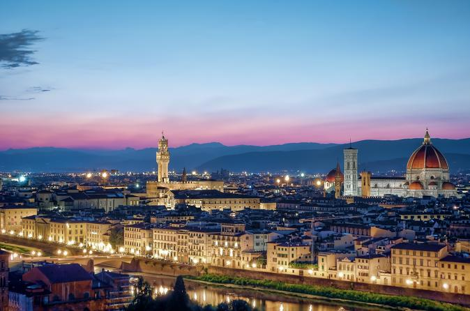 Private Transfer from Rome (or FCO Airport) to Florence with stops along the way