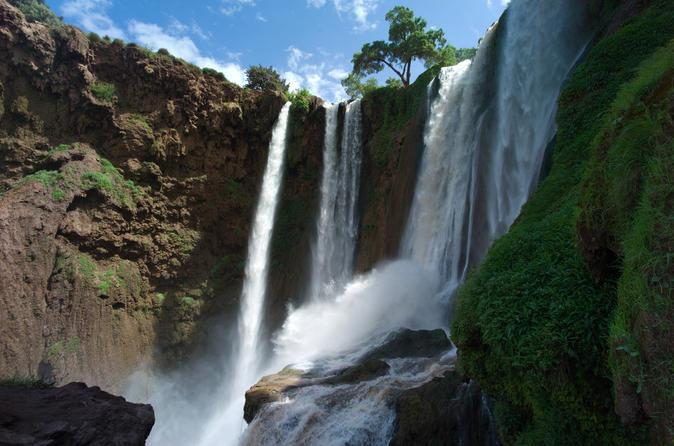 Viagem diurna para as cascatas de Ouzoud saindo de Marraquexe