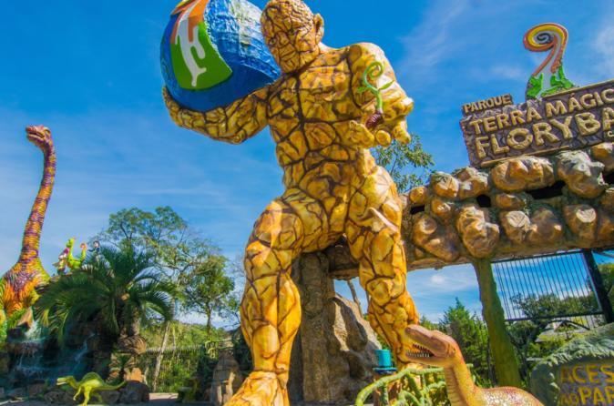Ingresso para o Parque Terra Mágica Florybal