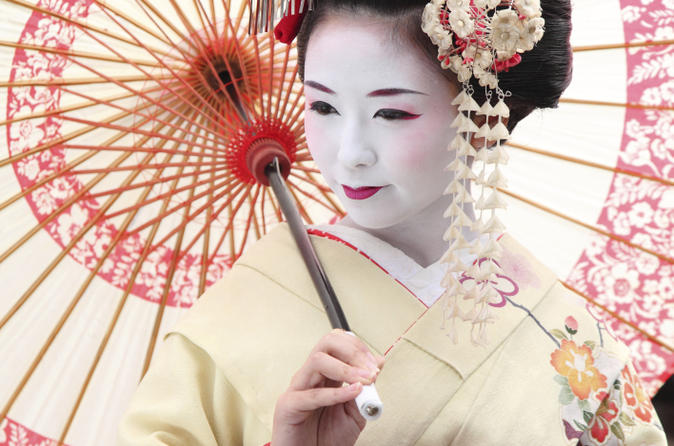 the art of the geisha private dinner in kyoto in japan asia