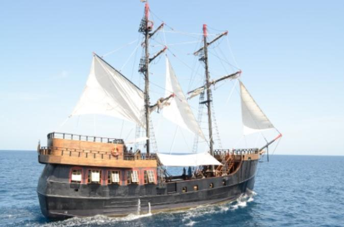 Pirate Ship Day Sail to Soufriere Including Buffet Lunch, St. Lucia Tours, Travel & Activities