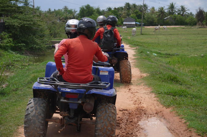 Full day Siem Reap Discovery Tour by Quad