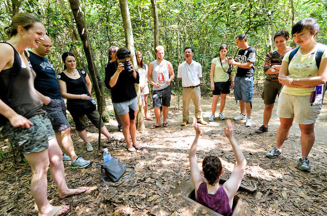 Tay Ninh Holy See and Cu Chi Tunnels""