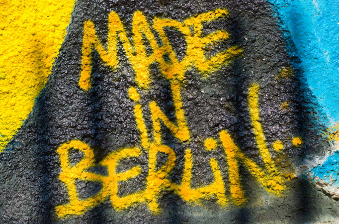 Berlin Street Art Tour and Graffiti Workshop